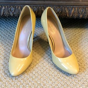 4 inch yellow pumps